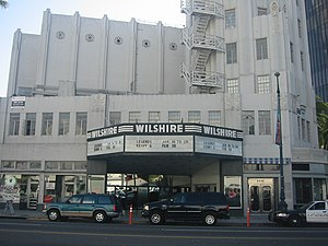 Saban Theatre - Image: Wilshire Theater 04