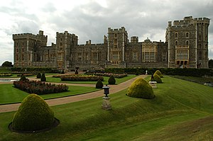 Cara este del Castillo de Windsor.