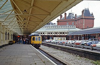 Windsor & Eton Central railway station - Windsor and Eton Central, September 1977