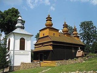 Wisłok Wielki Village in Poland