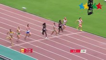 Archivo:Women's 100M Final - 28th Summer Universiade 2015 Gwangju.webm