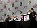 WonderCon 2011 - V panel with Marc Singer, Elizabeth Mitchell, and Scott Rosenbaum (5597115402).jpg
