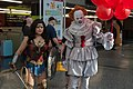 Wonder Woman and Pennywise cosplay - Montreal Comiccon 2017.jpg