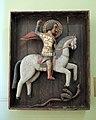 Wooden S.George (15th c., Rostov Kremlin) by shakko 02.jpg