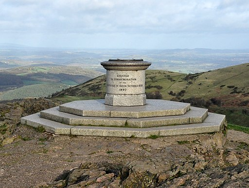 Worcestershire Beacon Toposcope