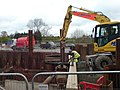 Work in progress reinstating the barge canal to Droitwich - geograph.org.uk - 1320255.jpg