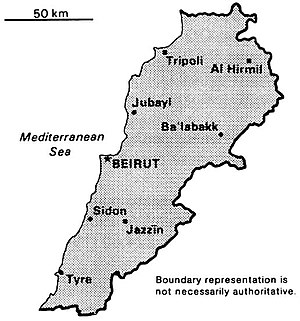 World Factbook (1990) Lebanon.jpg