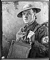 World War I; an R.A.M.C. bearer supplying water to the Wellcome L0009196.jpg