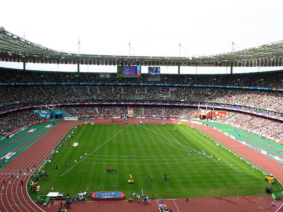 World championships in athletics 2003 Paris Saint-Denis stadium