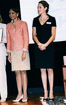 Condoleezza Rice i Angelina Jolie na Światowym Dniu Uchodźcy