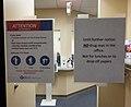 Wuhan Coronavirus sign at doctor's waiting room D.D.Teoli Jr.jpg
