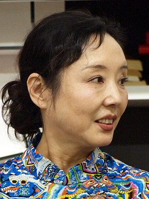 Geling Yan - Yan Geling at Frankfurt bookfair 2014