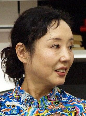 Geling Yan - Yan Geling at Frankfurt bookfair 2014
