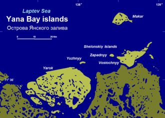 Yarok Island - Yarok and adjacent islands