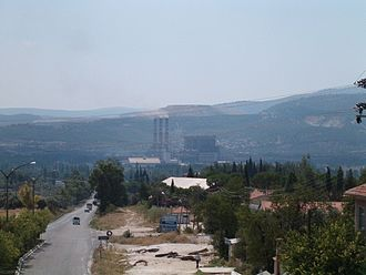 Yatağan power station - Image: Yatagan power plant