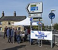Yes campaigning at Kinross - geograph.org.uk - 4162096.jpg