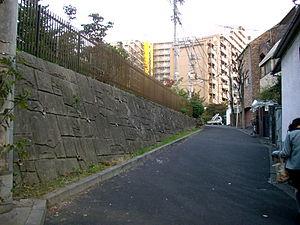 Mita, Minato, Tokyo - Image: Yoshimi zaka
