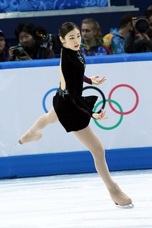 Free skating - Yuna Kim during her free skate from the 2014 Winter Olympics