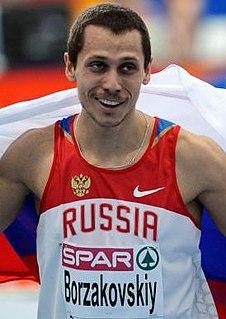 Yuriy Borzakovskiy Athletics (sport) competitor