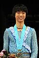 Yuzuru Hanyu 2009 JGPF Podium.jpg