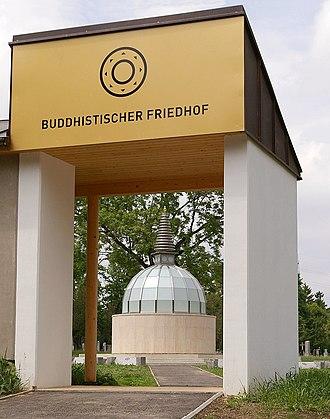 Vienna Central Cemetery - Image: Zentralfriedhof Wien Buddhistische Sektion