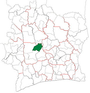 Zuénoula Department Department in Sassandra-Marahoué, Ivory Coast