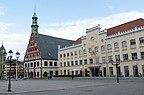 Niemcy - Saksonia, Zwickau, Panorama miasta - wido