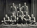 """Basketball Team"" from Trinity ivy yearbook 1911 (page 146 crop).jpg"