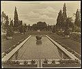 """Beacon Hill House,"" Arthur Curtiss James house, Beacon Hill Road, Newport, Rhode Island. Blue Garden, reflecting pool LCCN00651336.jpg"