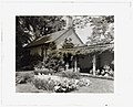 """Chatham,"" Colonel Daniel Bradford Devore house, 120 Chatham Lane, Fredericksburg, Stafford County, Virginia. Porch and reflecting pool LCCN2008677537.jpg"