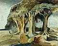 """Procession of trees"".jpg"