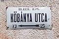 'III. ker B.M. Kőbánya utca' tábla, 2018 Békásmegyer.jpg