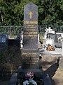Árpád Soha †1930 grave obelisk, 2020 Fót.jpg