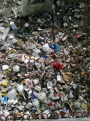 Waste management in Turkey - Uncovered landfills remain to be potential sources of flammable biogases, carcirogen and toxic waste, as well as microbial diseases