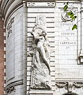 École supérieure des beaux-arts de Toulouse - Façade - allégorie de la sculpture par Leo Laporte-Blairsy.jpg