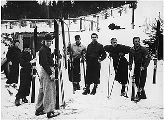 Norway at the 1936 Winter Olympics - The norwegian team for the alpine combination.