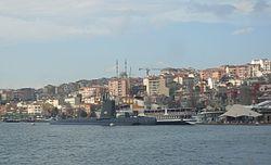 View of 'Hasköy from Golden Horn