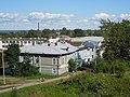 Белозерск, дом колхозника, Орлова 18, вид с вала.jpg