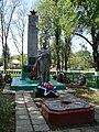 Братская могила партизан, казненных фашистскими оккупантами, Каладжинская, Краснодарский край.jpg