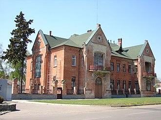 Zinkiv - Image: Будинок 2 (вул. Леніна, Зіньків)