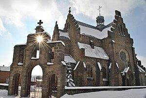 Буцнів - Церква святих апостолів Петра і Павла УПЦ КП (колишній костел) - 13025516.jpg
