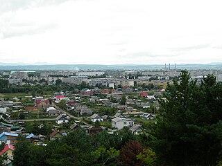 Arsenyev Town in Primorsky Krai, Russia