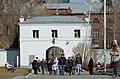 Екатеринбург Ново-Тихвинский монастырь ворота изнутри снесены 1.jpg