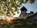 Захід на Невицькому замку.jpg