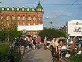 Ленина 105 - Нахановича 8 Театральный сквер IMG 1583.jpg