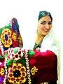 Национальная Таджикская одежда, девушка.JPG