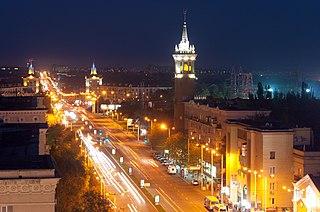 Zaporizhzhia City and administrative center of Zaporizhzhia Oblast, Ukraine