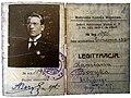 Посвідчення члена БВК Антона Борека, видане 6.6.1920.jpg
