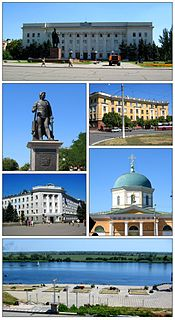 Kherson City of regional significance in Kherson Oblast, Ukraine
