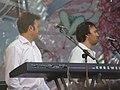 Чувелёв и Чекрыжов на концерте в Донецке 6 июня 2010 года 001.JPG
